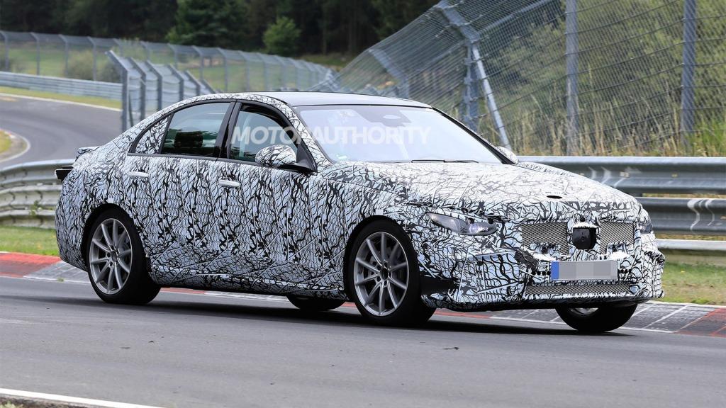 2021 MercedesBenz CClass Spy Shots