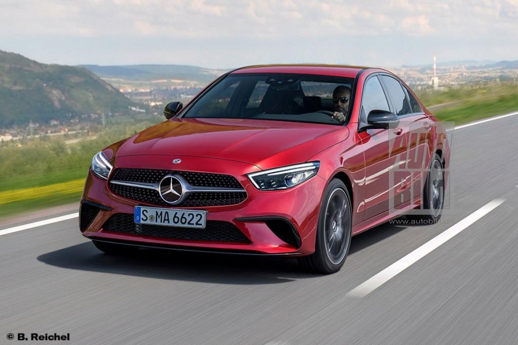 2021 Mercedes Benz GLK Spy Photos