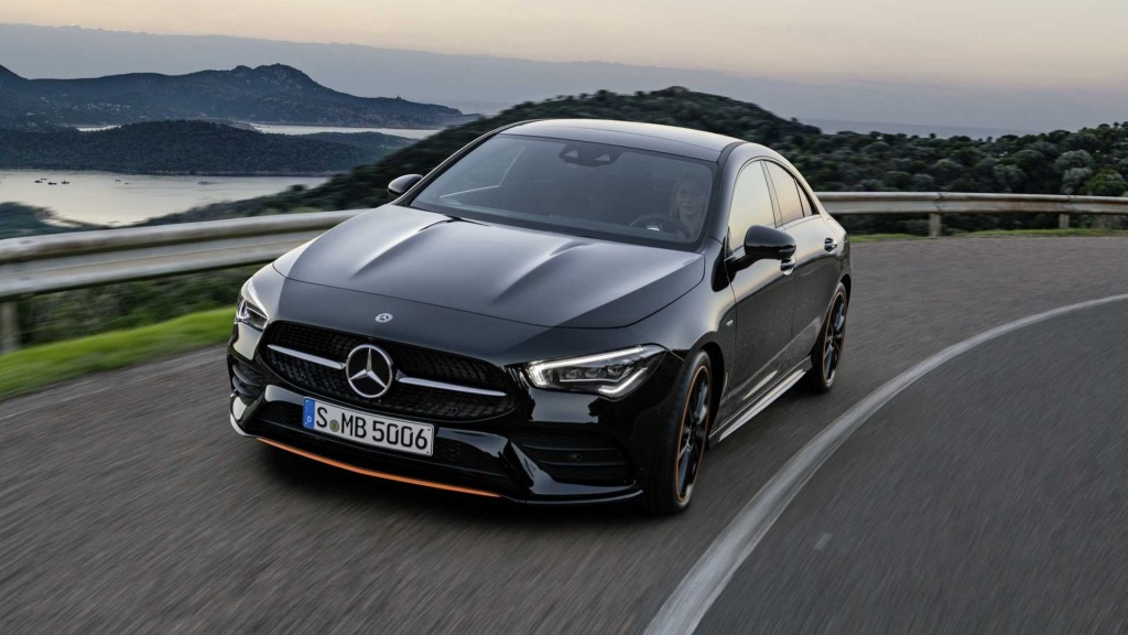 2021 Mercedes CLA 250 Spy Photos