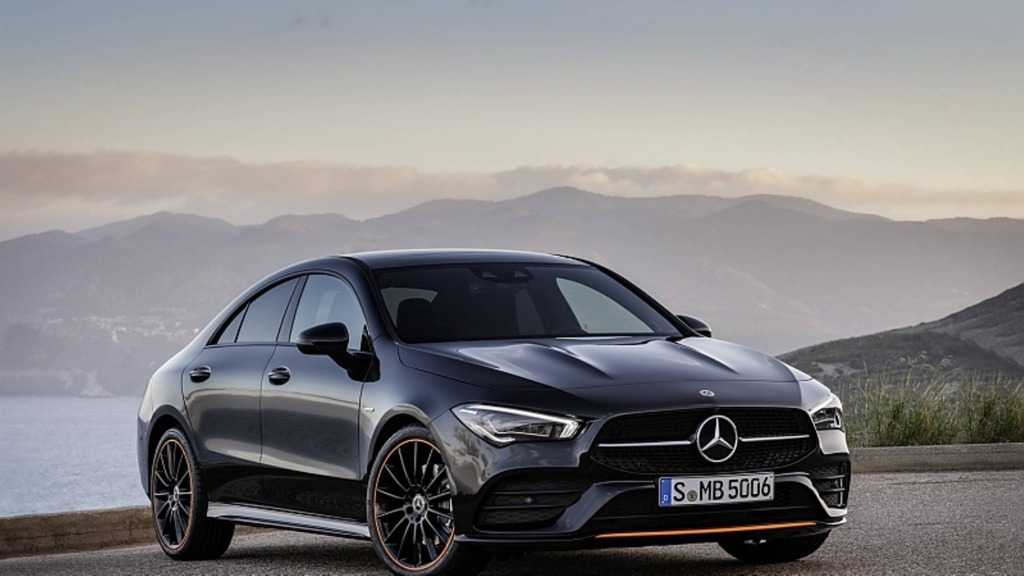 2021 Mercedes CLA 250 Spy Shots