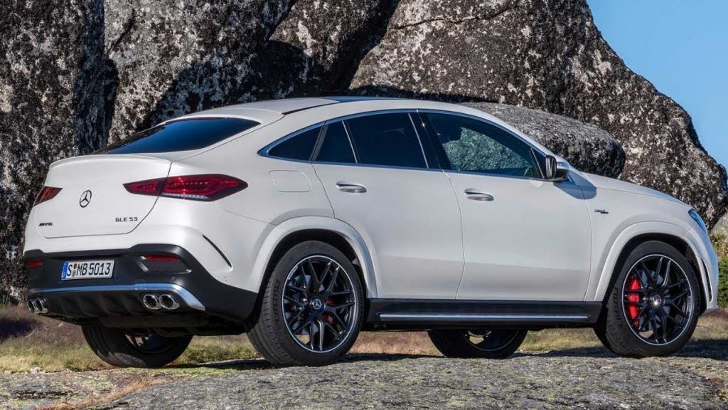 2021 Mercedes GLE Spy Photos