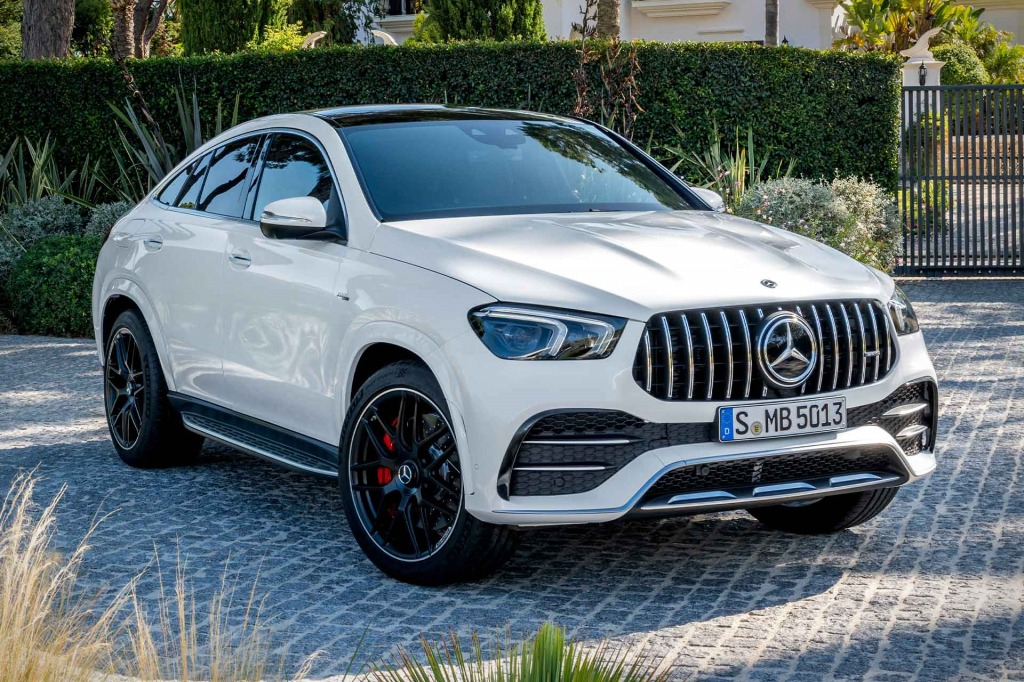 2021 Mercedes GLE Spy Shots