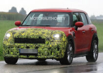 2021 Mini Cooper Countryman Spy Shots