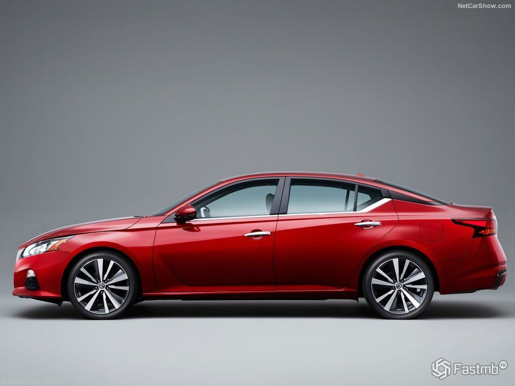 2021 Nissan Altima Spy Photos