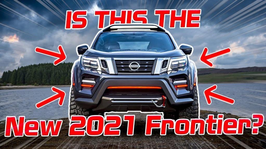 2021 Nissan Frontier Spy Shots