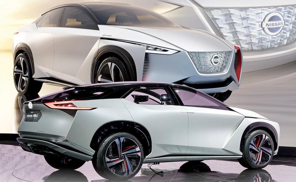 2021 Nissan Leaf Spy Photos