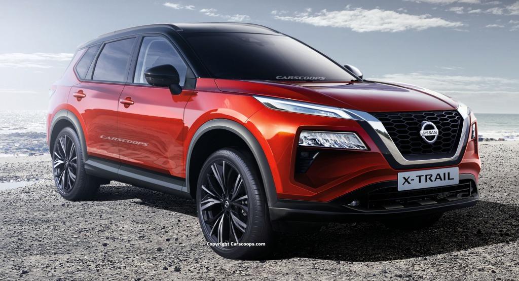 2021 Nissan Pathfinder Hybrid Spy Shots