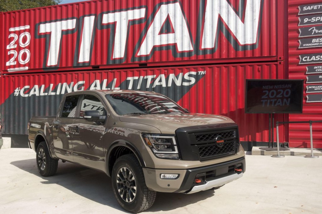 2021 Nissan Titan Drivetrain