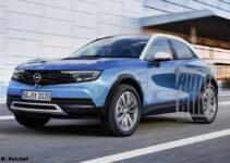 2021 Opel Antara Spy Photos