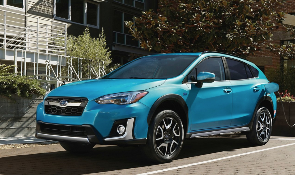 2021 Subaru Crosstrek Hybridand Interior