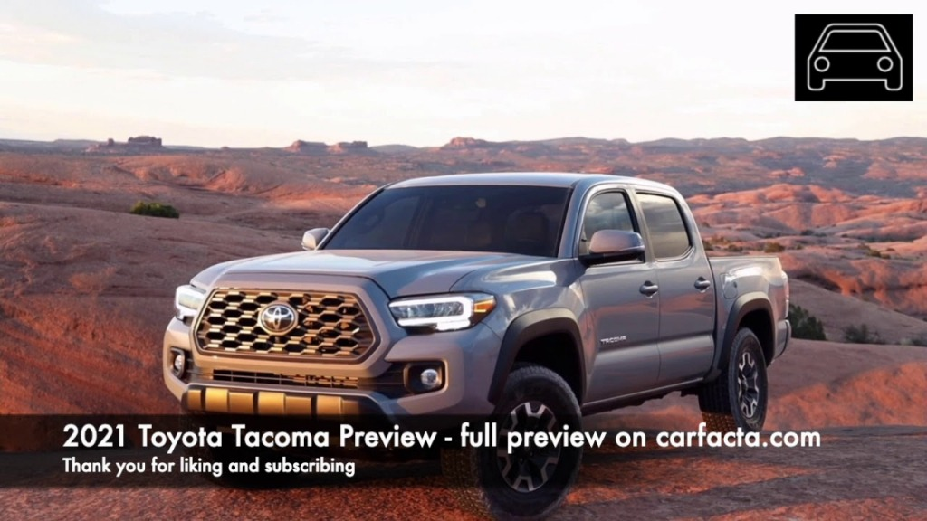 2021 Toyota Tacoma Spy Photos