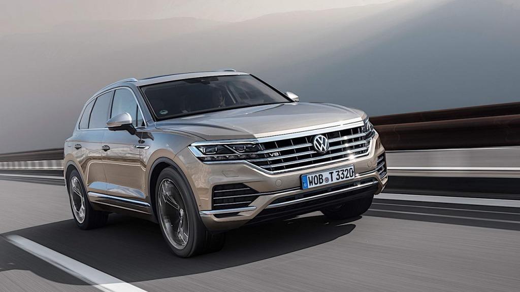2021 Volkswagen Touareg Drivetrain