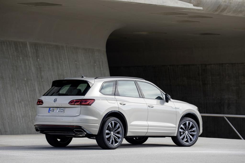 2021 Volkswagen Touareg Powertrain