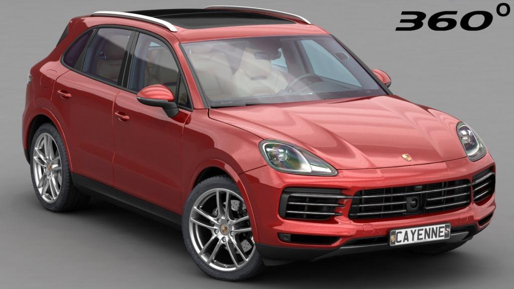Porsche Cayenne Model Concept