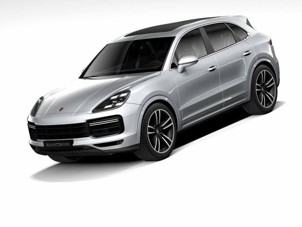 Porsche Cayenne Model Images