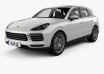 Porsche Cayenne Model Powertrain