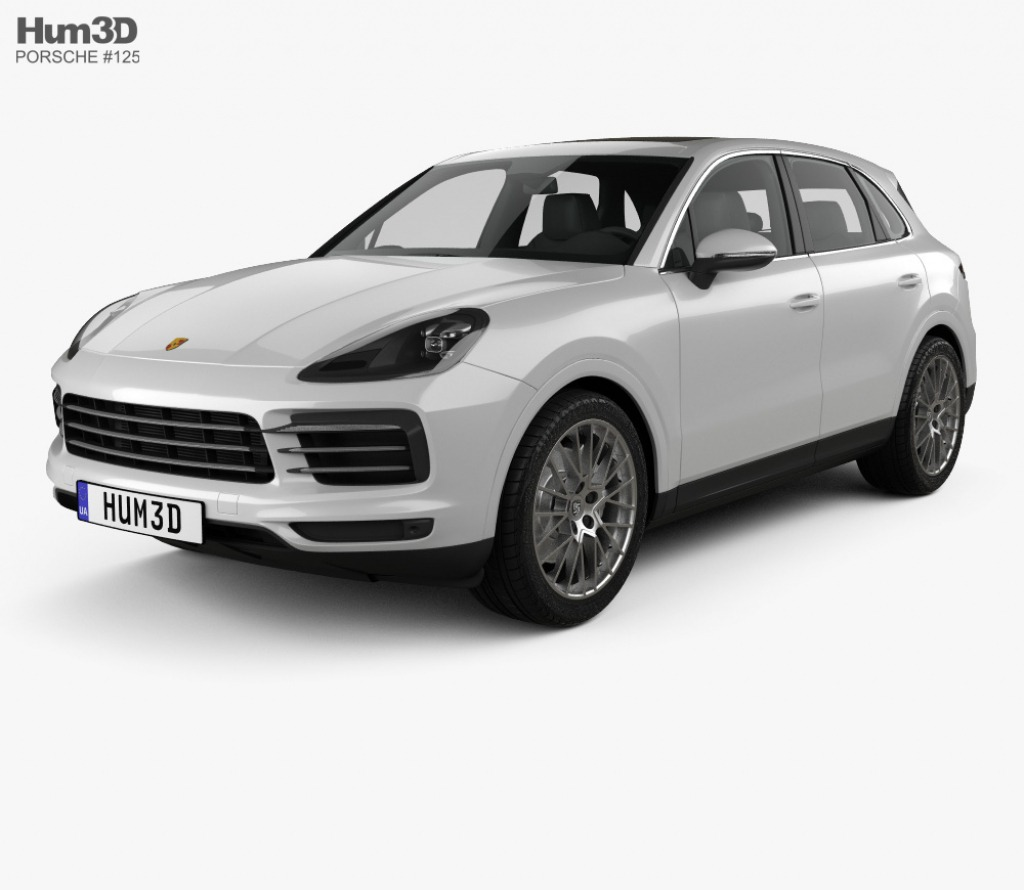 Porsche Cayenne Model Powertrain