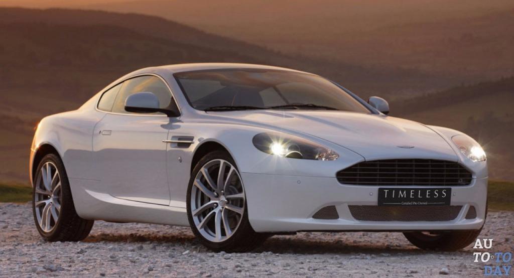 2021 Aston Martin DB9 Powertrain