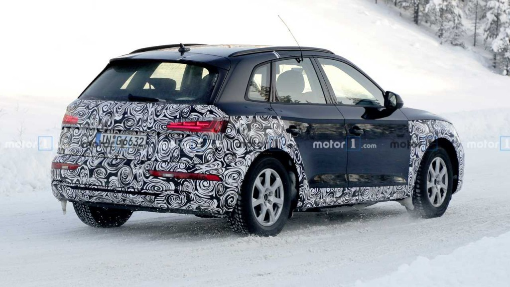 2021 Audi Q5 Spy Photos