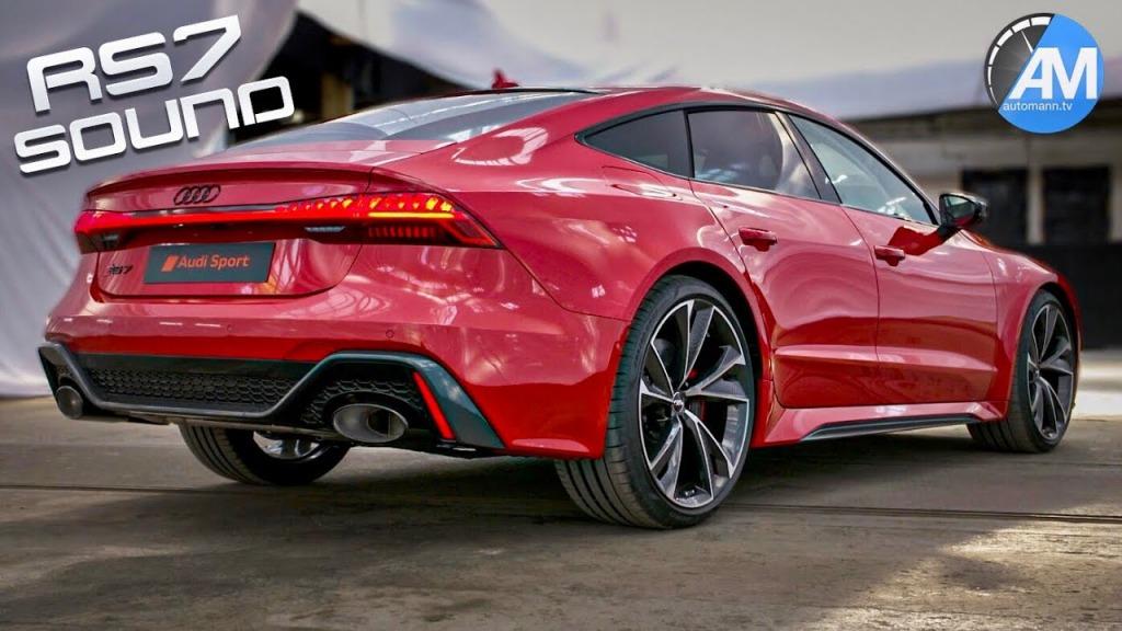 2021 Audi Rs7 Engine