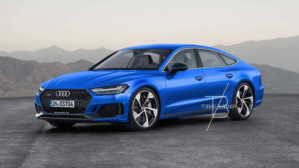 2021 Audi Rs7 Spy Shots