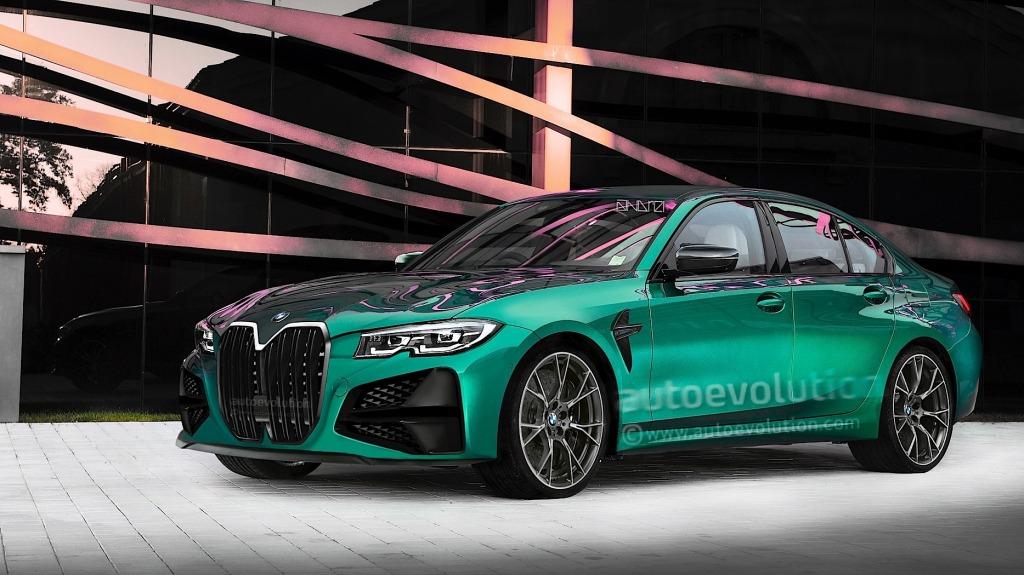 2021 BMW M3 Spy Shots