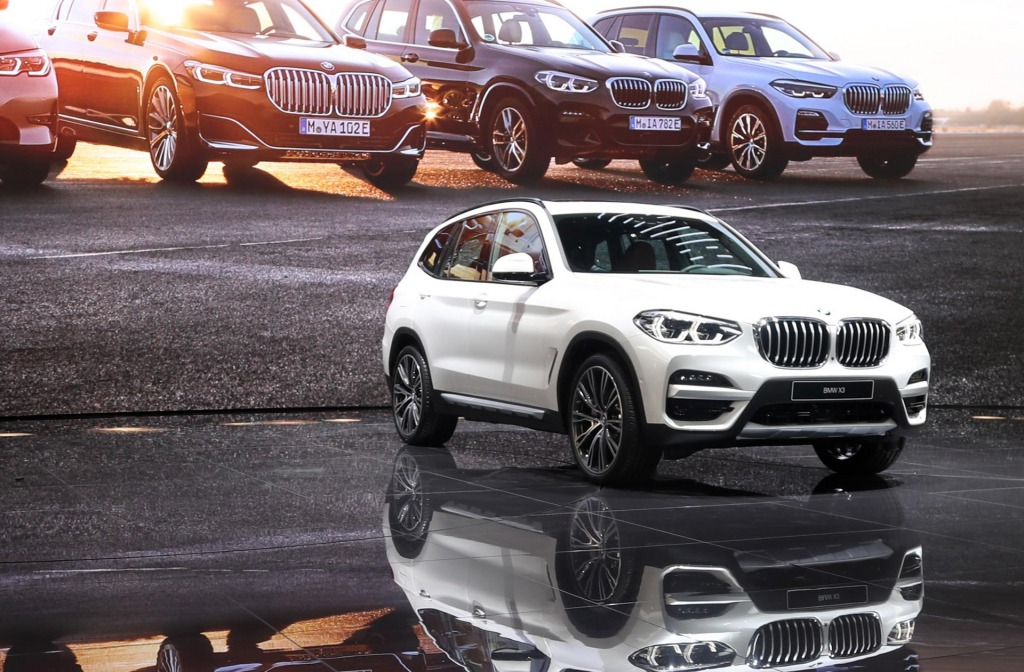 2021 BMW X3 Hybrid Spy Shots