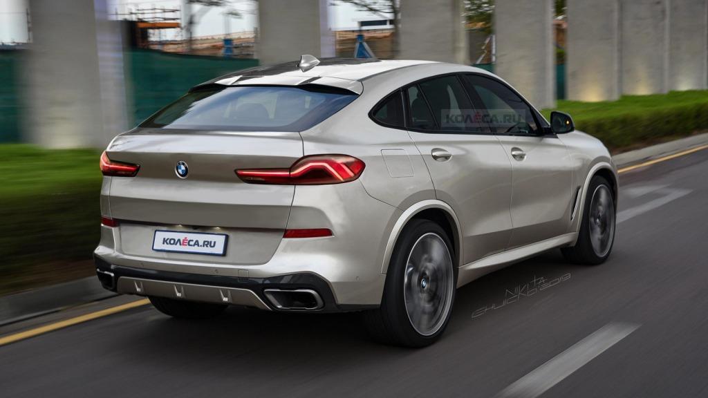 2021 BMW X6 Spy Shots