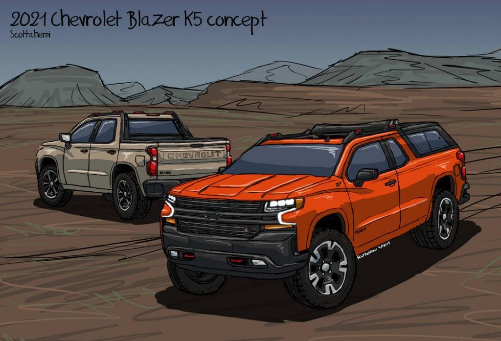 2021 Chevrolet Blazer K5 Redesign   New Cars Zone