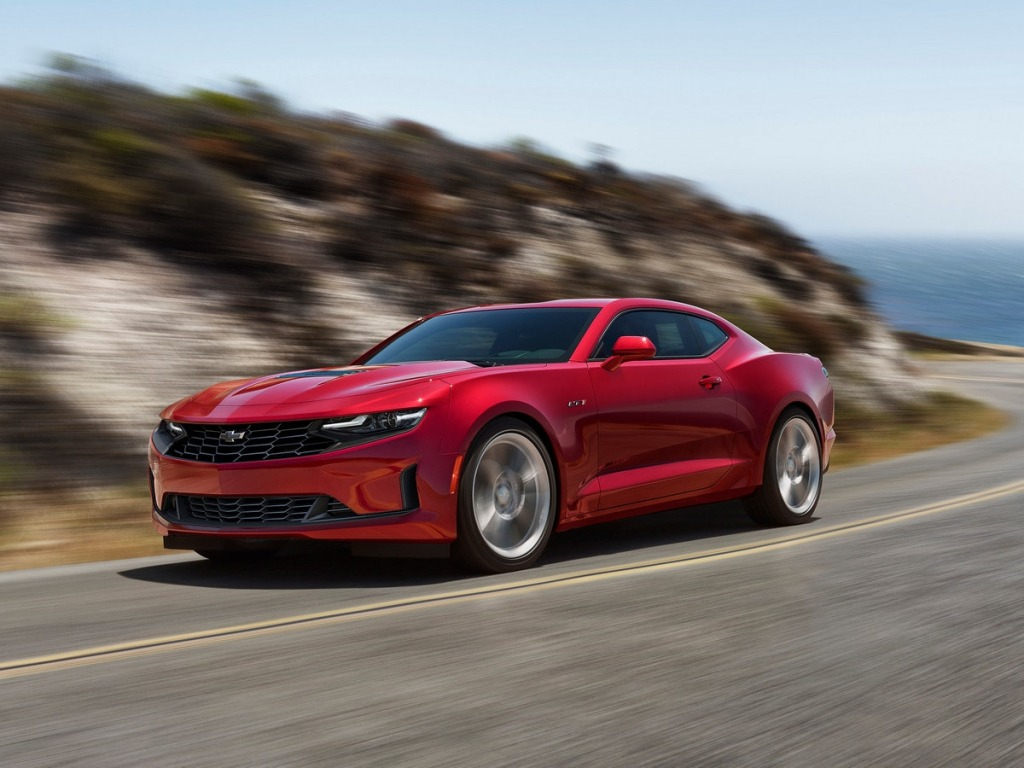 2021 Chevrolet Camaro Spy Shots