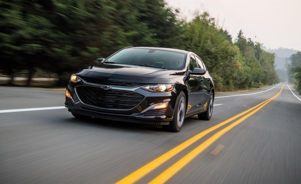 2021 Chevrolet Malibu Spy Shots