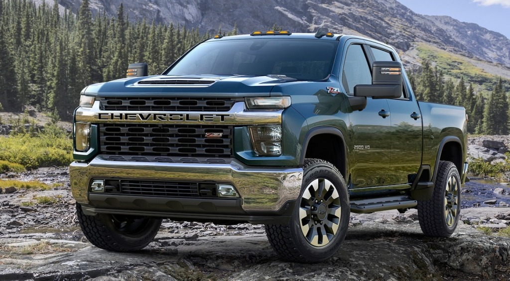 2021 Chevrolet Silverado Engine