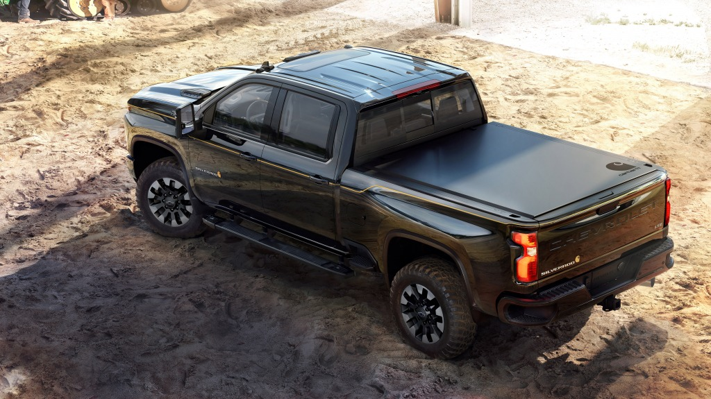 2021 Chevrolet Silverado Spy Photos