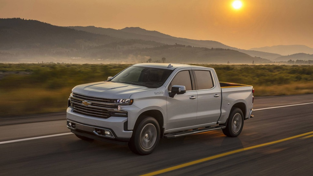 2021 Chevy Silverado 1500 Engine