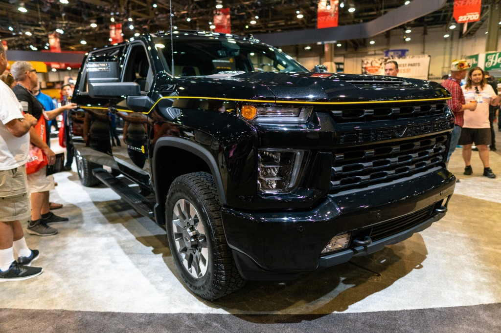 2021 Chevy Silverado Pictures