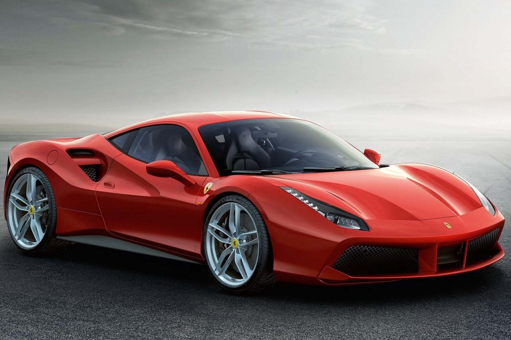 2021 Ferrari 488 GTB Spy Photos