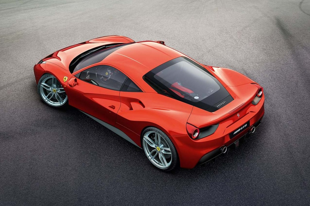 2021 Ferrari 488 GTB Wallpaper
