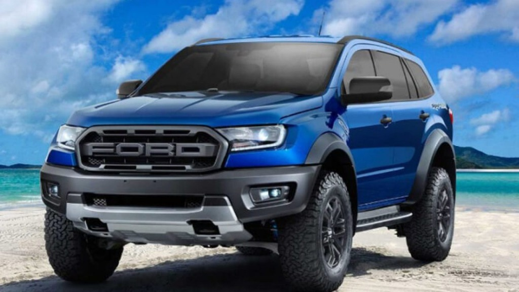 2021 Ford Everest Spy Photos