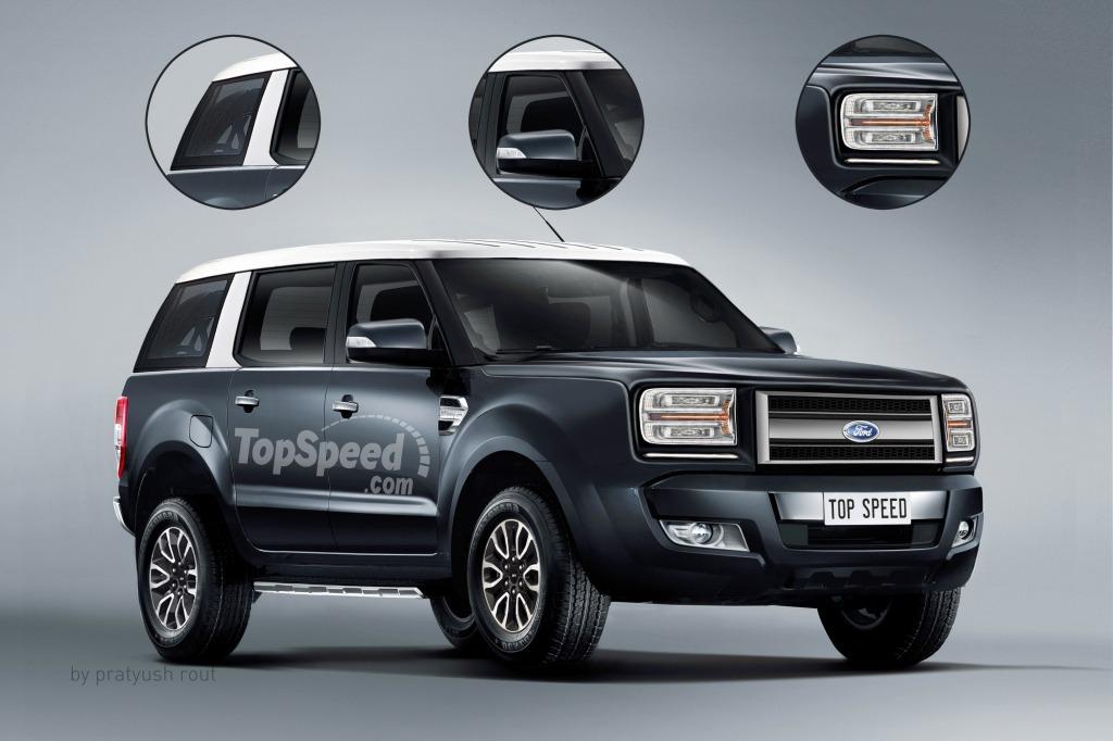 2021 Ford Everest Spy Shots