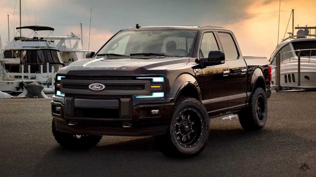 2021 Ford F150 Svt Raptor Concept