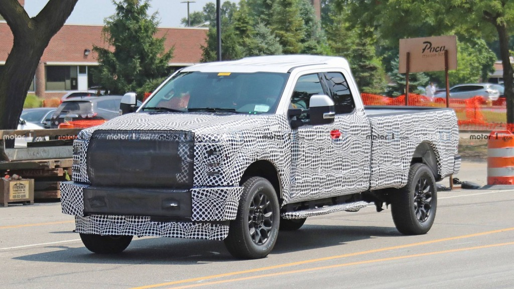 2021 Ford F250 Images