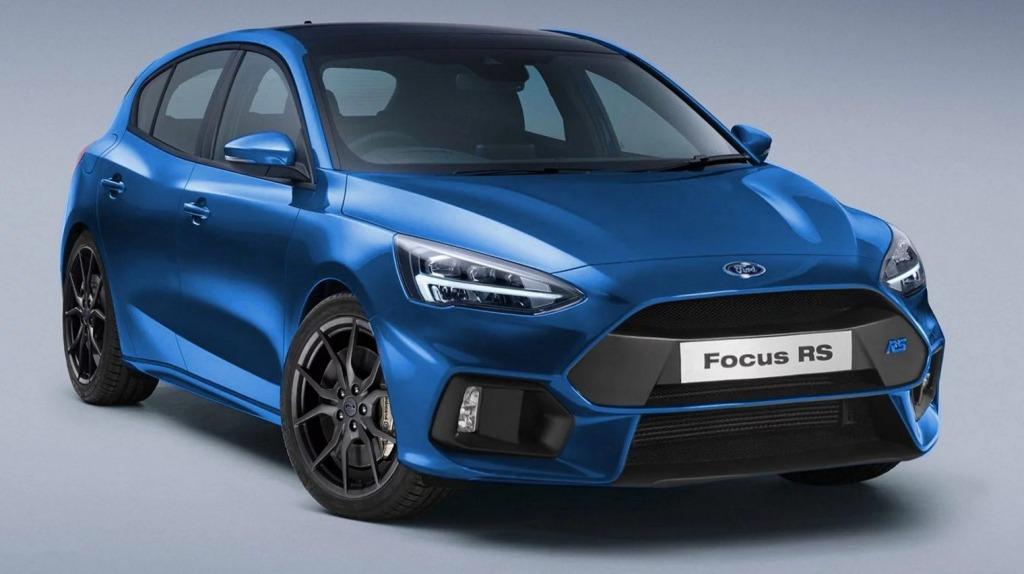 2021 Ford Focus RS Spy Photos