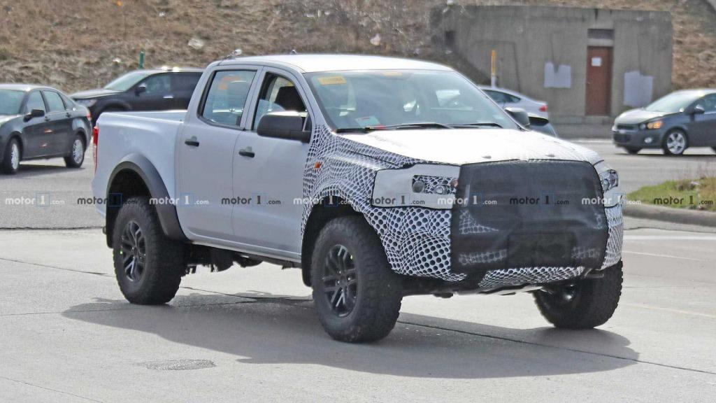 2021 Ford Ranger Drivetrain