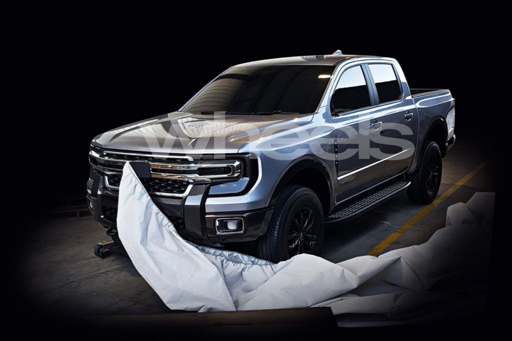 2021 Ford Ranger Spy Photos