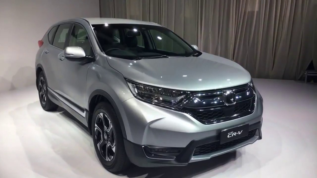 2021 Honda CRV Spy Photos