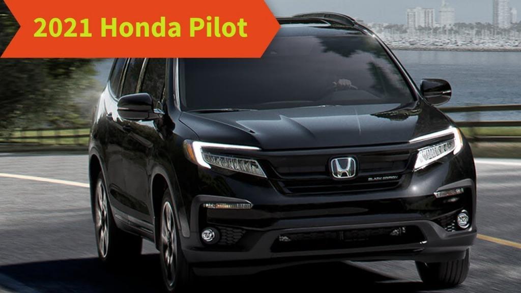 2021 Honda Pilot Spy Photos Release Date