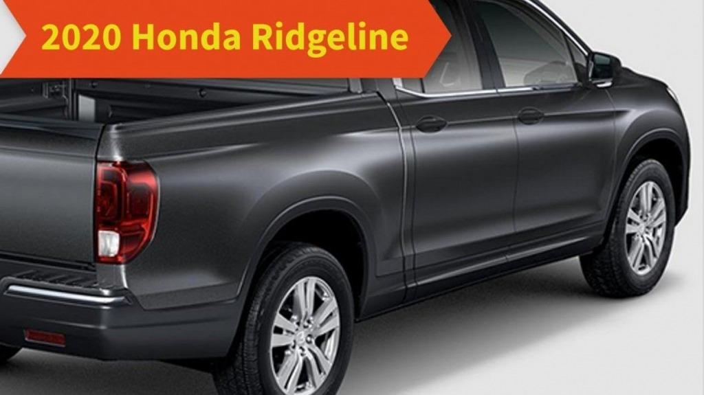 2021 Honda Ridgeline Spy Shots