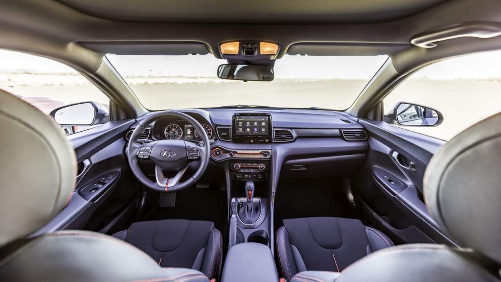 2021 Hyundai Veloster Drivetrain