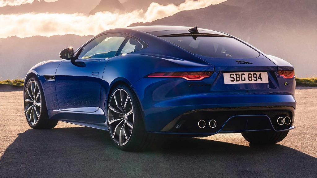 2021 Jaguar FType Powertrain