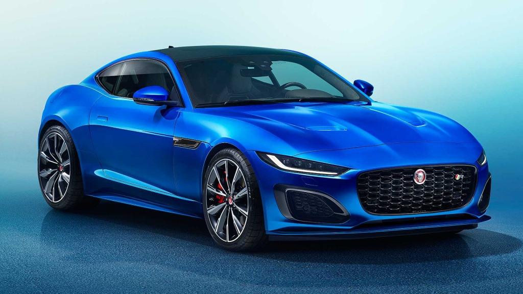 2021 Jaguar FType Spy Photos